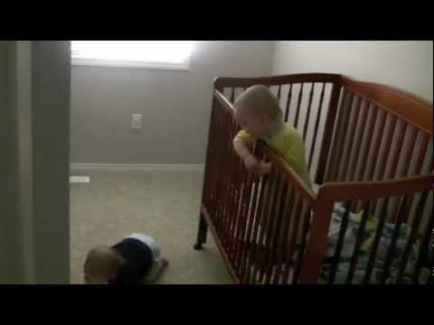 Baby Genius Escapes Crib