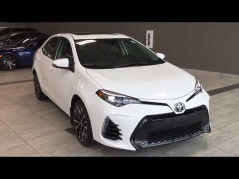 2018 toyota corolla se cvt xse package youtube. Black Bedroom Furniture Sets. Home Design Ideas