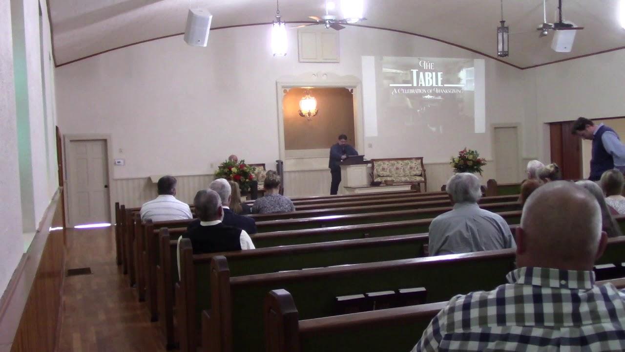 Sunday Morning Service 11/22/2020