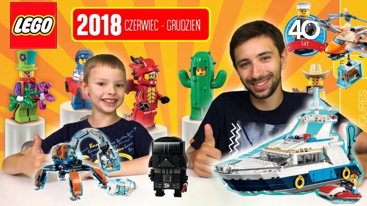 Przegląd Katalogu Lego 2018 Czerwiec Grudzień Ninjago City