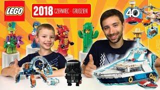 Przegląd katalogu LEGO 2018 Czerwiec-Grudzień [Ninjago, City, Minecraft, Creator, Star Wars]