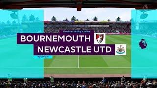 Bournemouth vs Newcastle 2-2   Premier League - EPL   16.03.2019