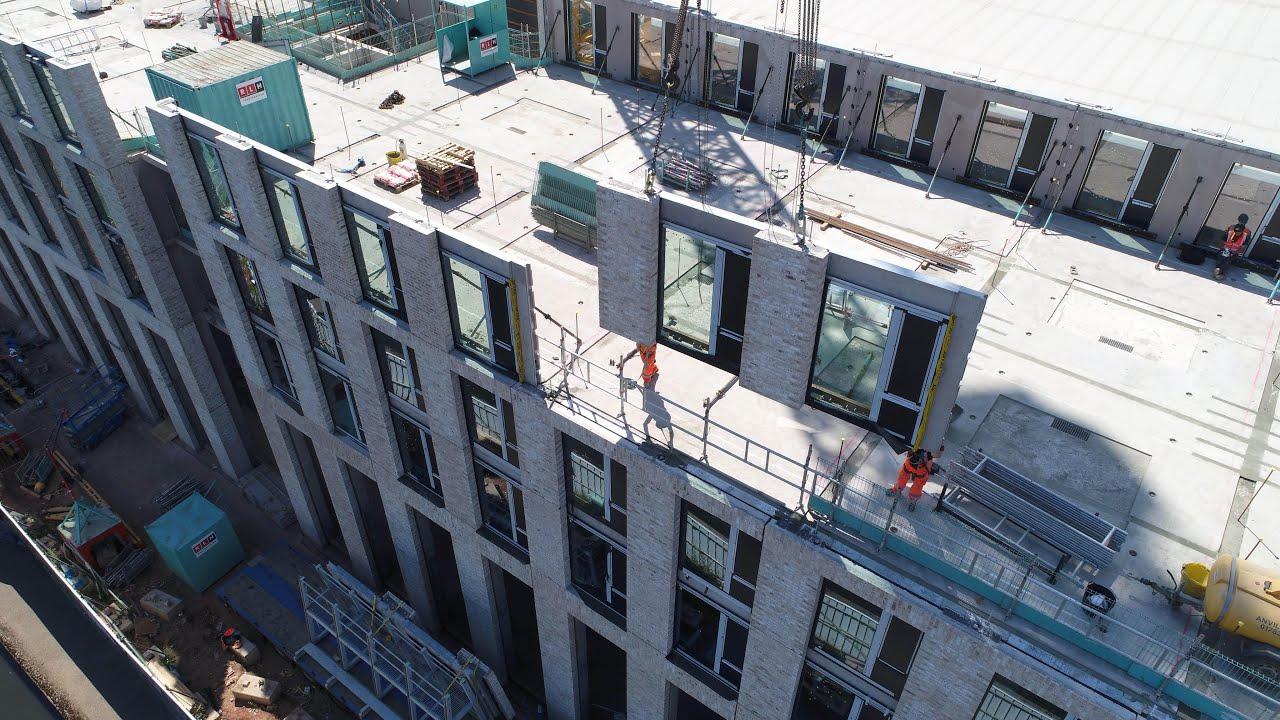 Modern Methods of Construction with FP McCann using Precast Concrete