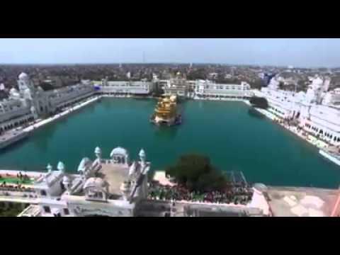 First video shoted by drone camera of shari harimandar sahib amritsar