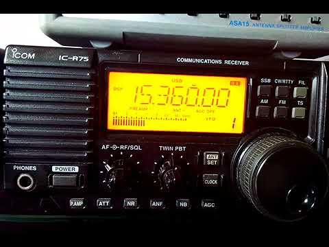 Trans World Radio Swaziland  26/11/17  @ 14:14UTC on 15360 kHz