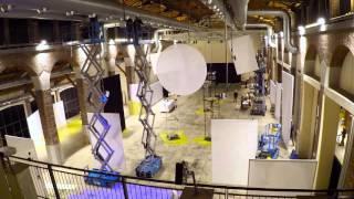 Uffizi Virtual Experience Time-lapse allestimento