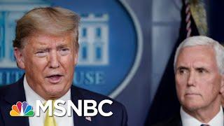 Joe Explains Why Trump's Easter Timeline Won't Happen | Morning Joe | MSNBC