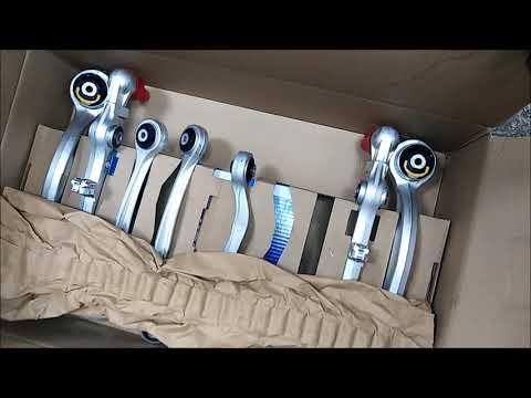 ауди А6 С5 замена передней подвески и задних сайлент-блоков балки