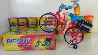 Fun Toys - Bike racing - Bicycle Competition whit Music ( Kid