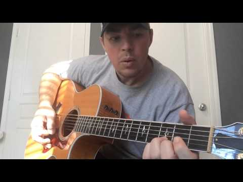 Me and You - Kenny Chesney (Beginner Guitar Lesson)