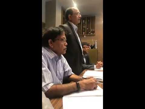 Dr. Jayampathy Wickramaratne's speech in London October 2017 - Part 1
