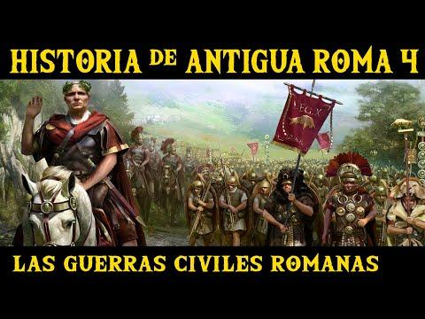 ANTIGUA ROMA 4: De la República al Imperio. Sila, Pompeyo, Julio César y Octaviano