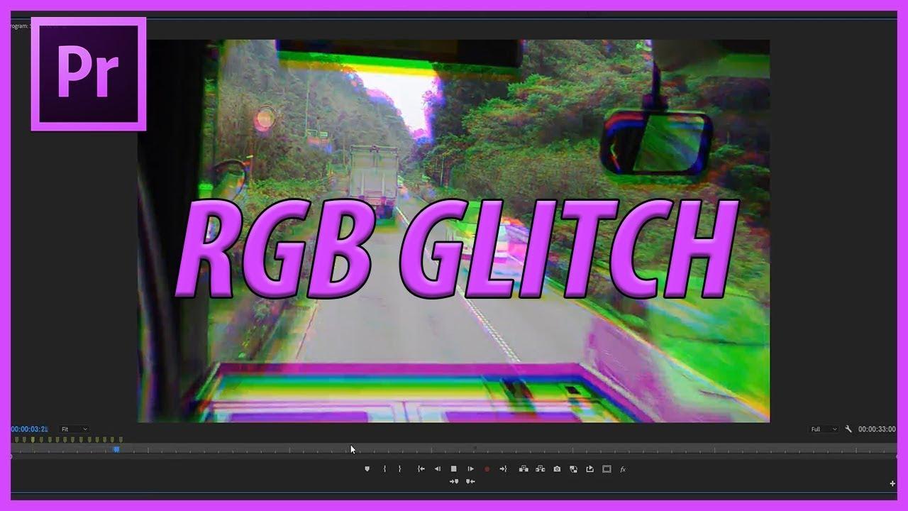 How to Create a RGB Glitch Effect Tutorial in Premiere Pro