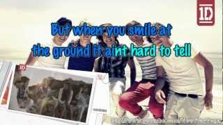 One Direction - What Makes You Beautiful (Instrumental-Karaoke)