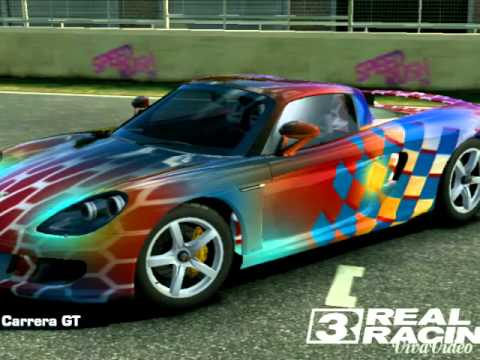 Real Racing Car Paint Design Youtube