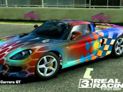 Real Racing 3 car paint design  YouTube