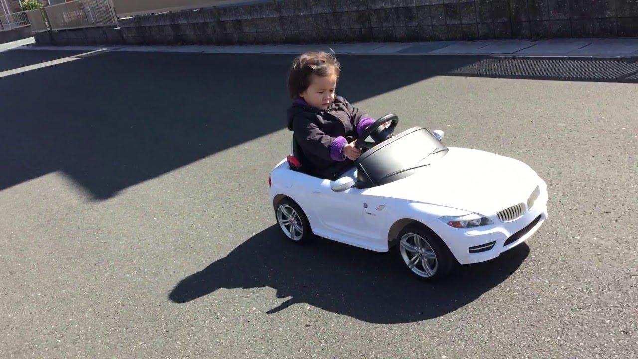 【2歳児】 完全自走運転!電動乗用 ラジコンカー Rc電動車 Bmw Z4 Youtube