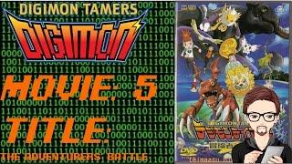 Digimon Tamer Movie 1 (デジモンテイマーズ )The Adventures Battle (冒険者たちの戦い ) Review