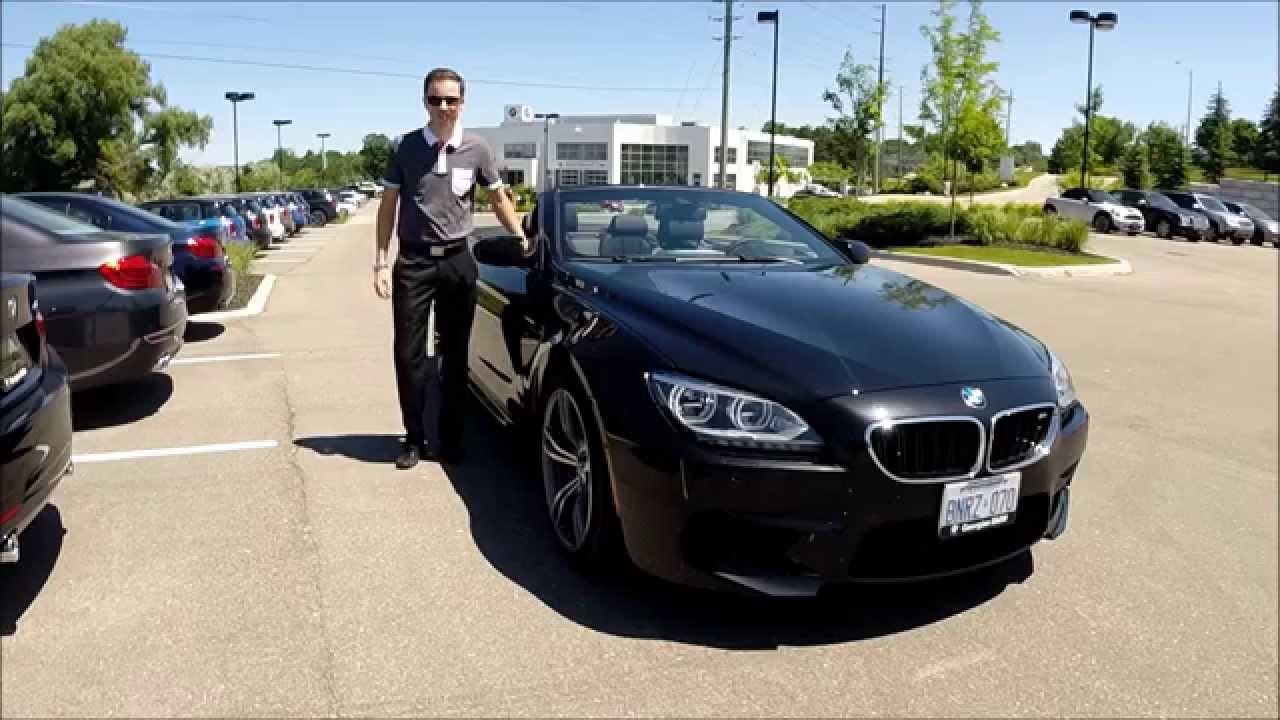Bmw M3 Convertible >> 2015 BMW M6 Cabriolet - Georgian BMW - YouTube