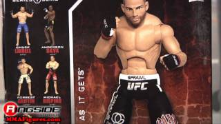 Mike Swick UFC Deluxe 1 MMA Jakks Figure - RSC Figure Insider