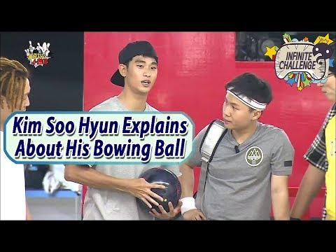 Infinite Challenge W Kim Soo Hyun Soo Hyun s Off His Bowling Balls 20170610