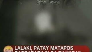 UB: Lalaki, patay matapos pagbabarilin sa bilyaran sa Tondo, Manila