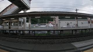 211系長野発飯田行き到着から発車まで
