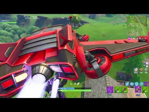 Fortnite SYNTH STAR & HOT ROD Glider Gameplay