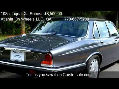 1985 Jaguar XJ-Series XJ6 Vanden Plas 4dr Sedan for sale ...