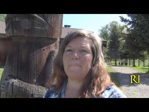 Alaska Road Trip: I  Get Locked Out + Tour a Native Village in Hazelton, BC
