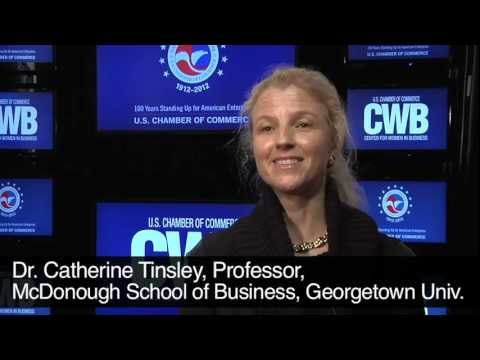Dr. Catherine Tinsley from Georgetown University on women in business