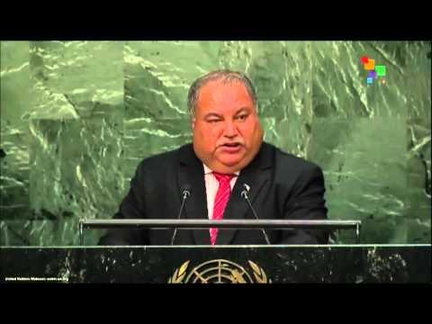 UN Speeches: President of Nauru Baron Waqa
