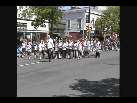 Memorial Day Parade Wsfld Elementary Band, Munger Hill