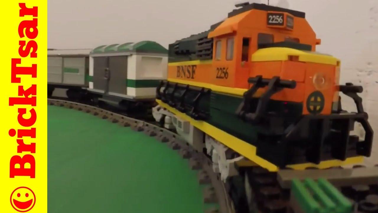 LEGO 9V TRAIN 10133 BNSF GP 38 LOCOMOTIVE Burlington Northern Santa Fe