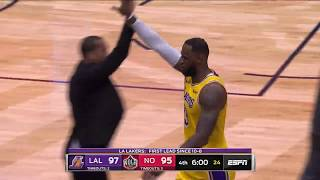 New Orleans Pelicans vs Los Angeles Lakers | November 27,2019