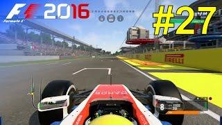 F1 2016 - Career Mode #27: Italian Grand Prix - Free Practice & Qualifying