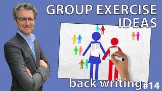 Group Exercise Ideas - Back Writing #14