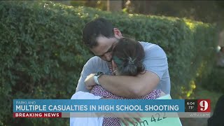 VIDEO: Parents share their reactions after learning of a shooting in a South Florida school