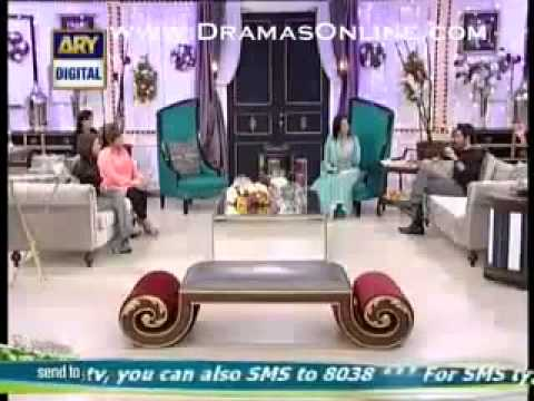 Good Morning Pakistan, Maria Meer And Amanat Ali Exclusive By ARY Digital, 29th January 2014 Part 4