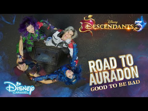 Descendants 3 | BEHIND THE SCENES: Road To Auradon - Good To Be Bad