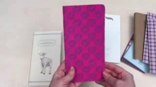 Варианты сменных блокнотов для ежедневников типа Midori Travelers Notebook +обзор Сны Жирафа