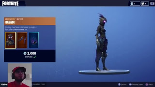 Honest Thoughts On Ravage Skin Fortnite battle royale
