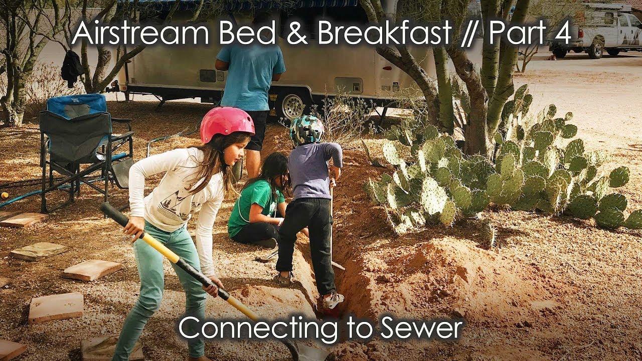 Airstream sewer hookup