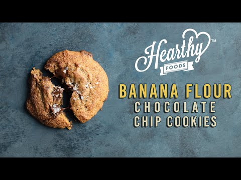 BANANA FLOUR Chocolate Chip Cookies �� | Gluten-Free Recipes