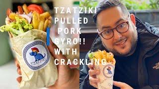 SOUVLAKI KEBAB WITH SLOW ROASTED PORK AND PORK CRACKLING FRIES! AT TZATZIKI | Ep.23