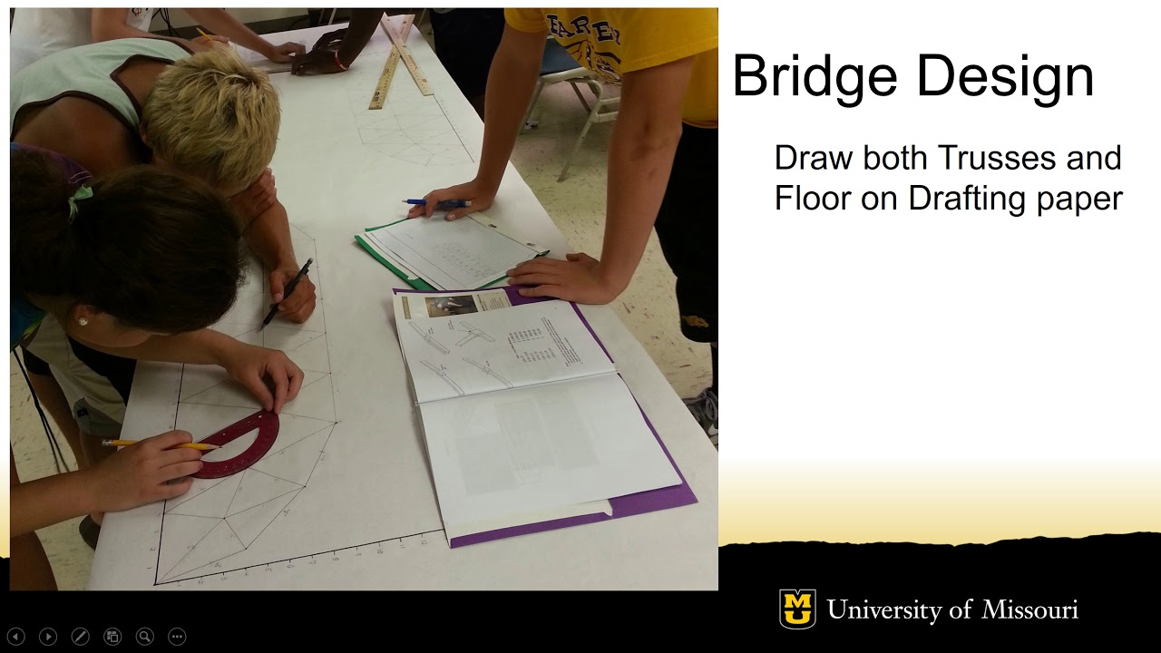 Balsa Bridge Middle School Competition University Of Missouri College Of Engineering