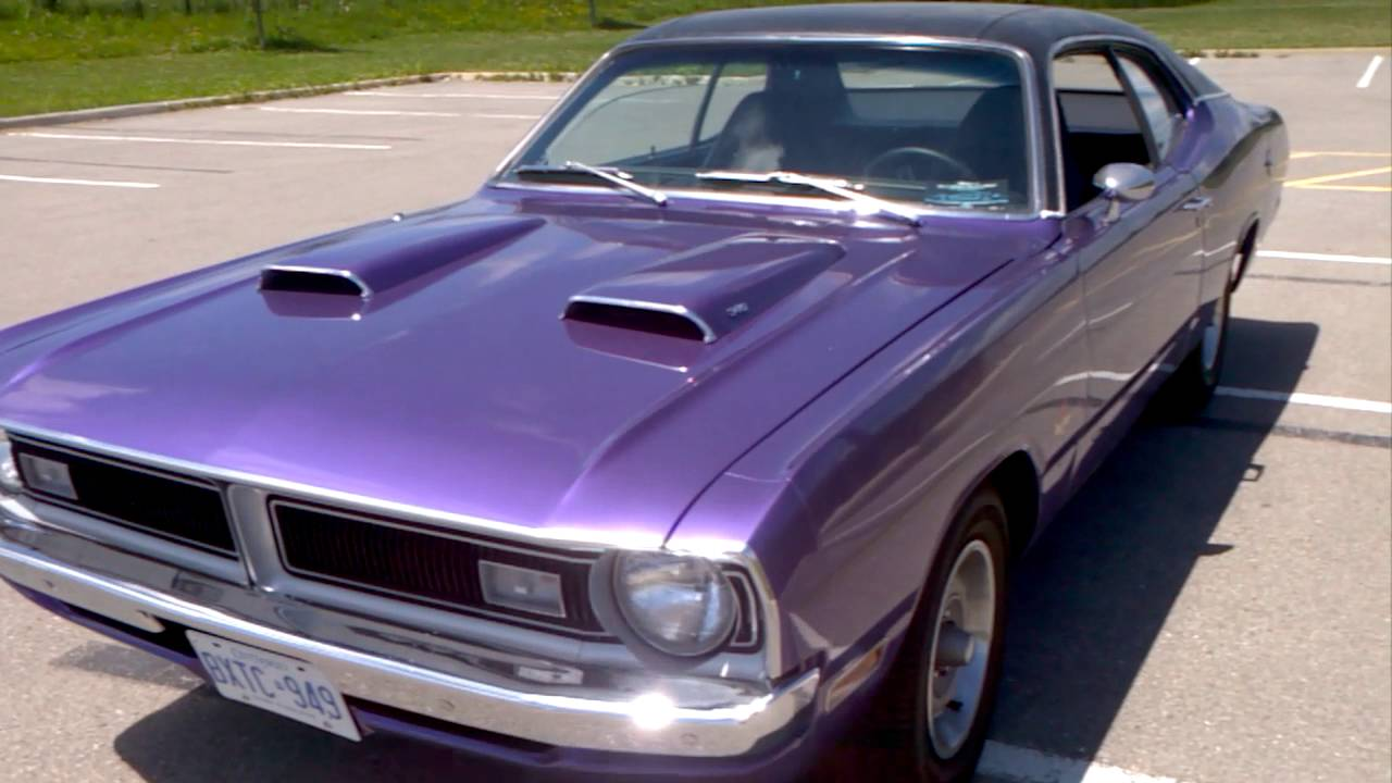 1971 Dodge demon Autos Car For Sale in toronto, Ontario - YouTube