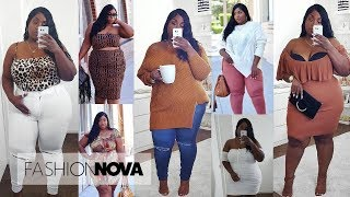 IT'S OFFICIALLY FALL!! PLUS SIZE FASHION NOVA HAUL 2018!