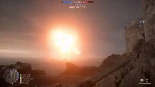 Battlefield 1 - Dreadnought Explosion