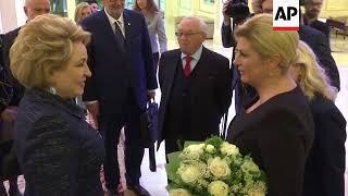 Croatian President meets chair of Russian Council